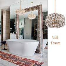 Gold Bathroom Lights 10 Bathroom Lighting Ideas With Crystal Chandeliers Lamps Plus