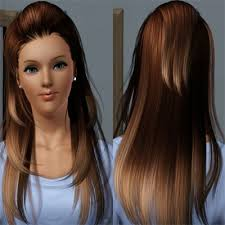 the sims 3 hairstyles and their expansion pack ombre hair by metzemaus the exchange community the sims 3