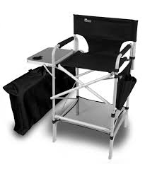 portable makeup chair with side table professional makeup chair makeup artist chair from innovative earth