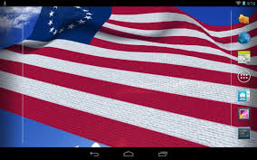 Flags Of United States 3d Us Flag Live Wallpaper Android Apps On Google Play