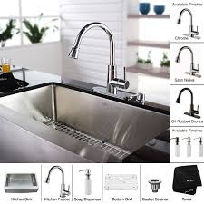 Single Undermount Kitchen Sink by Khf200 30 Kpf2220 Ksd30orb Stainless Steel 30 Inch Farmhouse