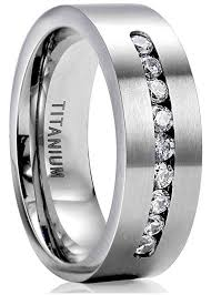 men promise rings 8mm titanium engagement rings for men promise ring jewelry