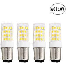 bonlux ba15d contact bayonet base led light bulbs 120 volts