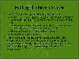 go green screen taking projects to the next level ppt download