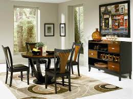 black wood dining room table black and cherry wood dining room set 4lfd0134c c 493 4