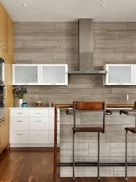 Wood Tile Backsplash - Kitchen backsplash wood