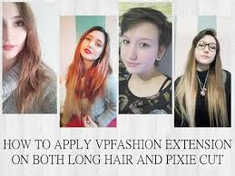 extensions for pixie cut hair how to apply vpfashion extensions pixie cut long hair youtube