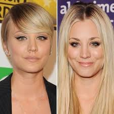 why did kaley cuoco cut her hair is it for the bbt show or did