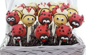 ladybug cake pops the cake bomb cake pops for all occasions ladybug bee cake pops