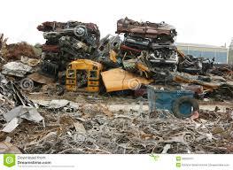 car junkyard singapore crushed cars stacked royalty free stock image image 10975006