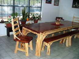 tables made from logs garden furniture made from logs lovely custom made rustic log end