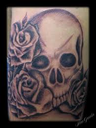 sleeve skulls and roses images for tatouage