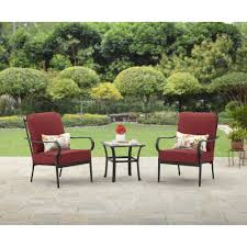 Hampton Bay Pembrey 7 Piece Patio Dining Set - better homes and gardens kelley lane 3 piece chat set walmart com