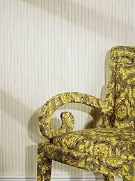 versace home creamy barocco stripe wider width 4 colourways