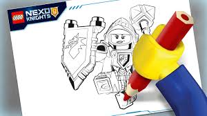 macy colouring page activities nexo knights lego com