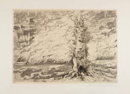 libreria petrucci carlo alberto petrucci roma 1881 1963 paesaggio con tronco