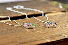 diy resin necklace images How to make resin pendants jpg