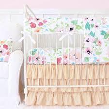 pink crib bedding caden lane u2013 tagged