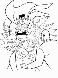 printable coloring pages free superman coloring sheets