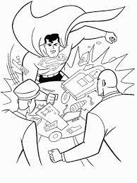 free superman coloring sheets