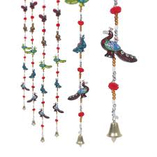 buy jaipuri haat rajasthani handcrafted peacock door hanging home