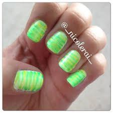fan brush nail art fanbrush fanbrushnails brightnails
