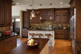Red Kitchen Tile Backsplash Kitchen Dark Brown Kitchen Cabinets Kitchen Sinks Cream Kitchen