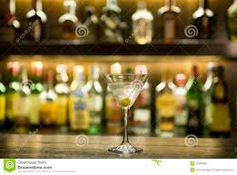 martini bar martini drink cocktail in a bar stock photo image 10303992