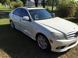 2009 mercedes c300 sport mercedes c300 sport white black leather must sell due to relocation