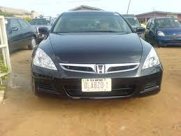 2006 black honda accord 2006 honda accord ex black colour leather interior autos nigeria