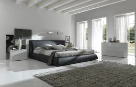 Black White And Grey Bedroom by Bedroom Simple Gray Bedroom Color Scheme With Wall Mirror And