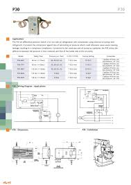 p30 pressure switches catalogue gb ranco pdf catalogue