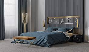 modern bedroom ideas with wooden scheme design bring out a trendy