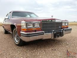 cadillac fleetwood brougham 22k one owner out of heated garage