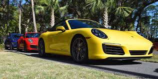 2017 Porsche 911 C2s U2013 Race Yellow And Guards Red First Drive