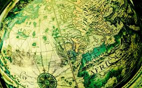 Vintage Map Wallpaper by Africa Map Wallpapers Wallpaper Cave