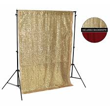 backdrop fabric gold sequin fabric backdrop kit backdrop express