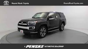 toyota limited 2017 new toyota 4runner limited 4wd at round rock toyota serving