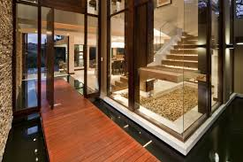 luxury african home design with symbols of nature and african home