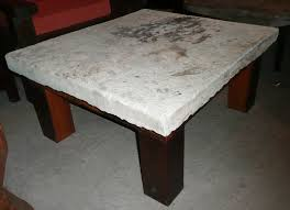 coffee tables dazzling antique stone and teak table coffee