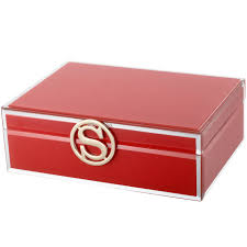 personalised jewelry box large personalised glass jewellery box initial s jewellery
