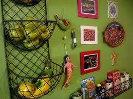 wall fruit basket kitchen wall baskets kitchen ideas