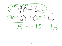 Worksheets Distributive Property Showme Division And Distributive Property To Find Quotient
