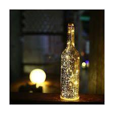 acelife blue wine bottle light led starry string lights kit with