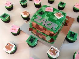 minecraft cupcakes minecraft cake and cupcakes my blessed