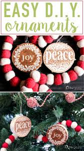 easy and beautiful diy wooden ornaments designer trapped in a
