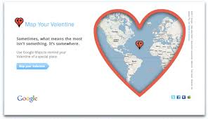 The Domain Map Google Maps Goes Gooey Mapyourvalentine Com