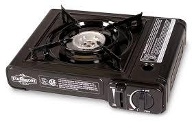 portable table top butane stove amazon com stansport portable outdoor butane stove cing