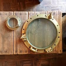 antique porthole huge brass porthole porthole window nautical decor