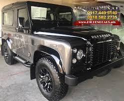 new land rover defender 2013 highendcars ph the premium high end cars and bulletproof vehicle